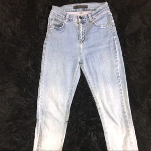 Cute ombre womens skinny jeans!!